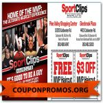 Sports Clips Coupon Printable For December | Sample Coupons For   Great Clips Free Coupons Printable