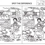 Spot The Difference Worksheets For Kids | Kids Worksheets Printable   Free Printable Spot The Difference Worksheets