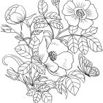 Spring Flowers Coloring Page | Free Printable Coloring Pages   Free Printable Spring Pictures To Color