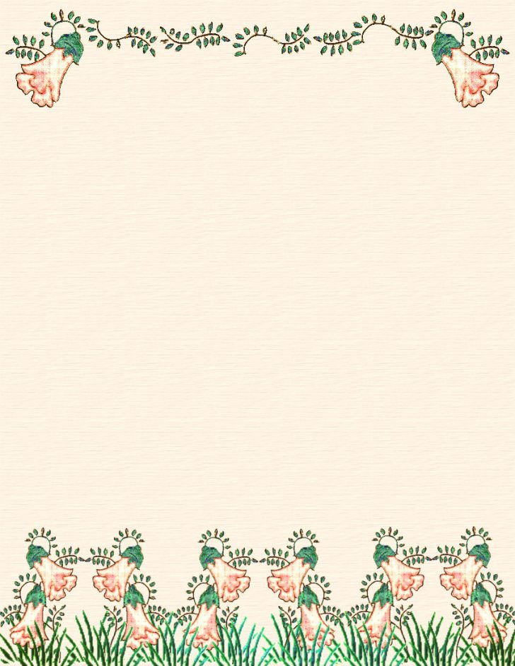 Free Printable Spring Stationery