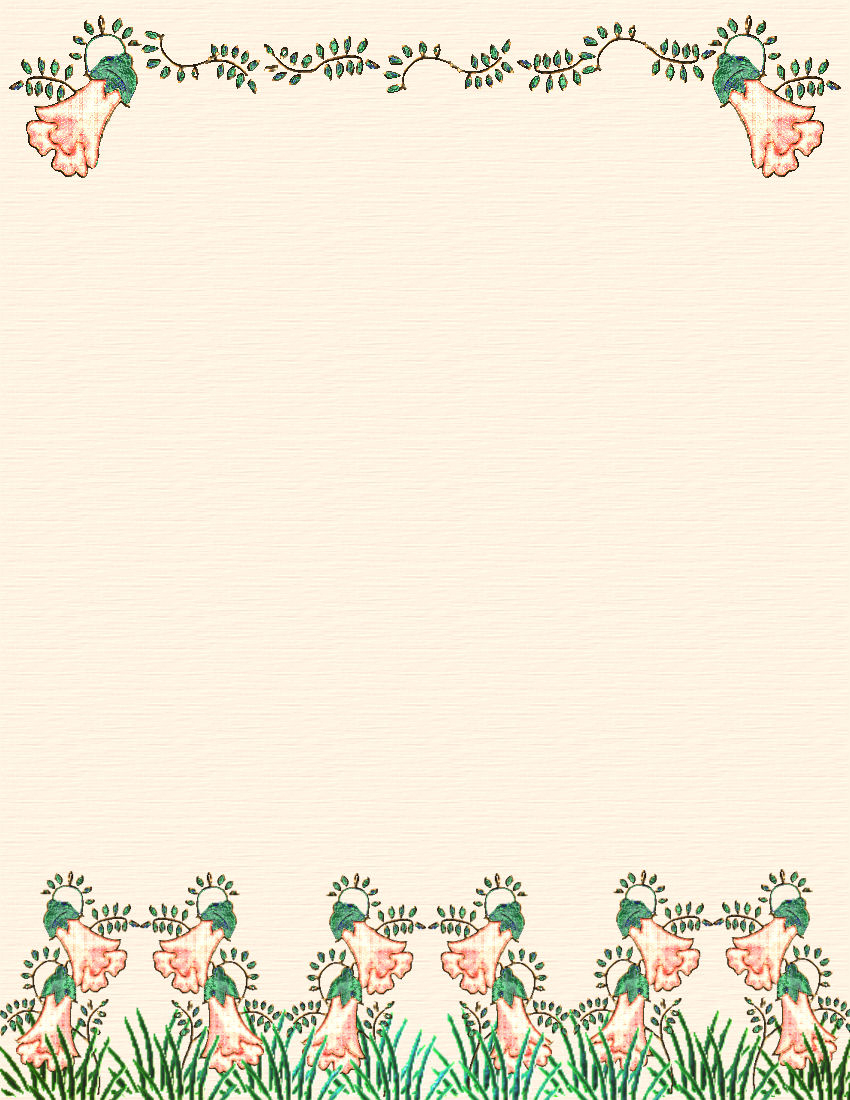 Spring Stationery Themed Downloads Pg. 2 - Free Printable Spring Stationery