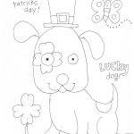 St. Patrick's Day Coloring Page Preschool- Free Printable | St – Free Printable St Patrick Day Coloring Pages