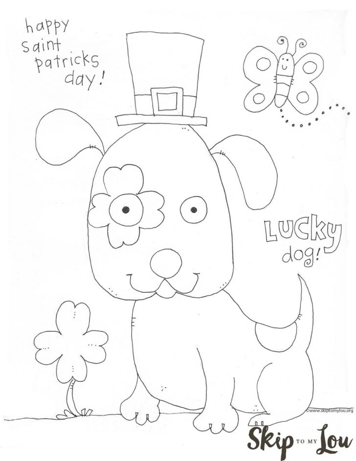 Free Printable St Patrick Day Coloring Pages