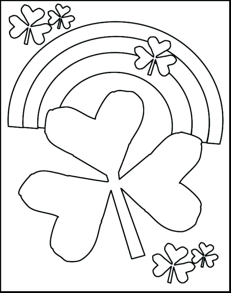 St Patricks Day Coloring Page - Saglik - Free Printable St Patrick Day Coloring Pages