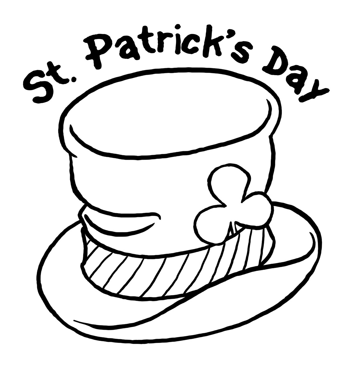 St Patricks Day Coloring Pages | St. Patrick's Day Coloring Pages - Free Printable Saint Patrick Coloring Pages