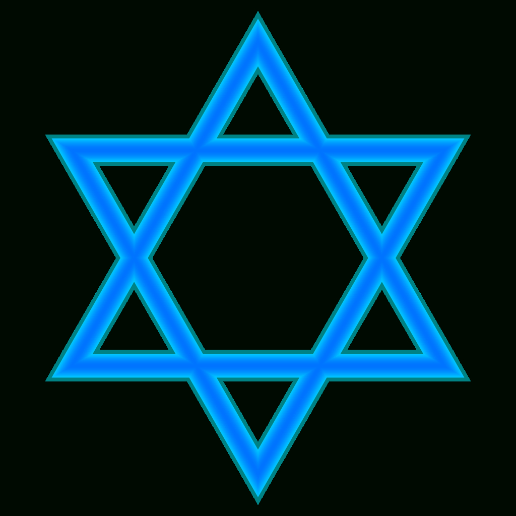 Star Of David Image Freeuse Library Free - Rr Collections - Star Of David Template Free Printable