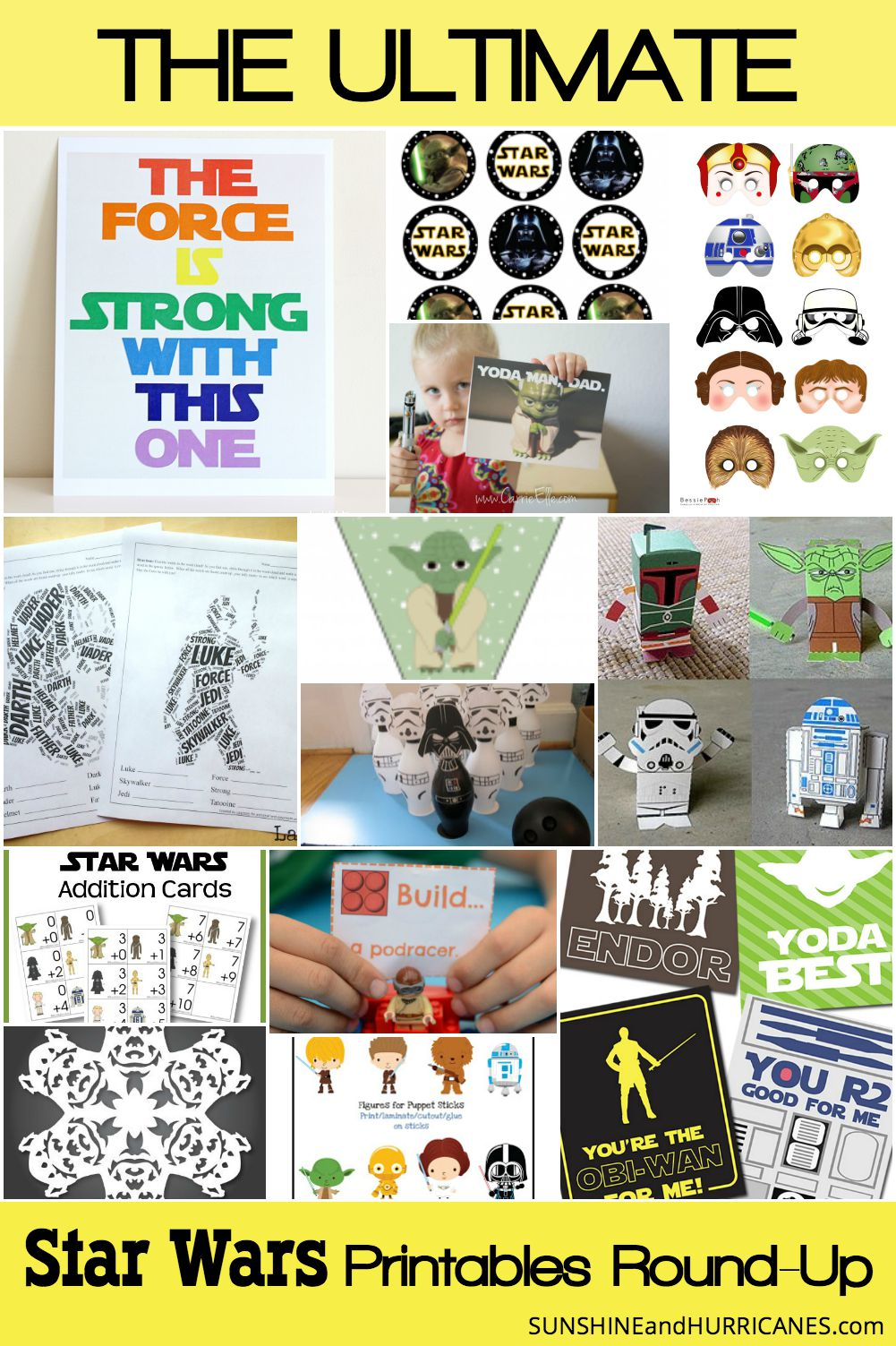 Star Wars Printables An Out Of This World Round-Up - Star Wars Printable Cards Free