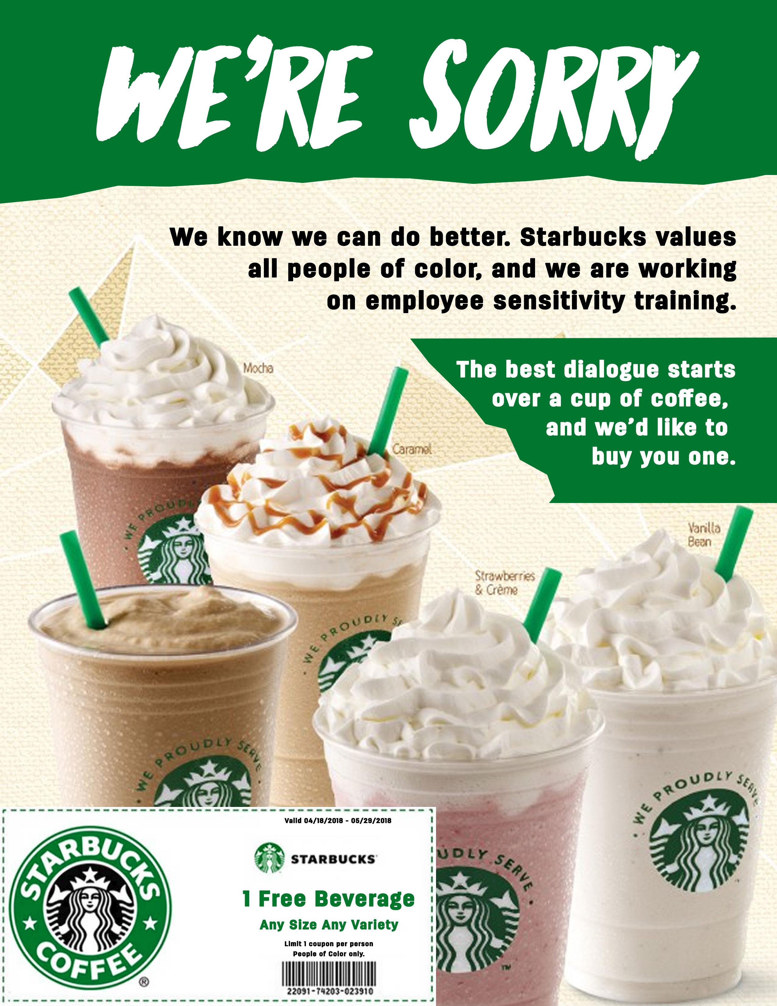 Starbucks Coffee Coupon - Coffee Drinker - Free Starbucks Coupon Printable