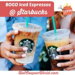 Starbucks Grande Iced Espresso: Bogo Free Event | Hot Coupon World   Free Starbucks Coupon Printable