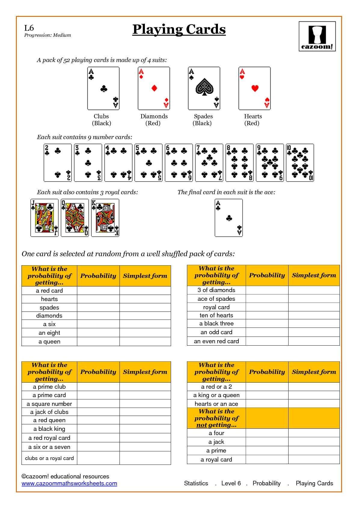 Statistic Maths Worksheets | Math | Math Worksheets, Probability - Free Printable Statistics Worksheets