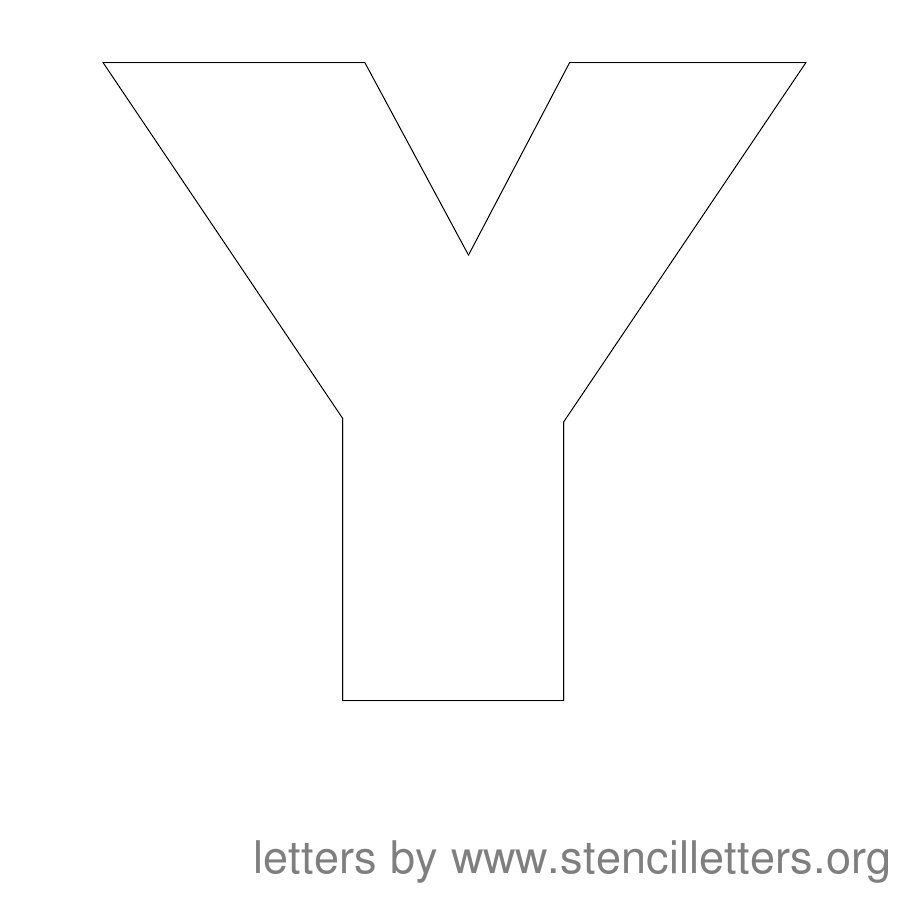 Stencil Letters 12 Inch Uppercase | Stencil Letters Org - Free Printable Old English Letters