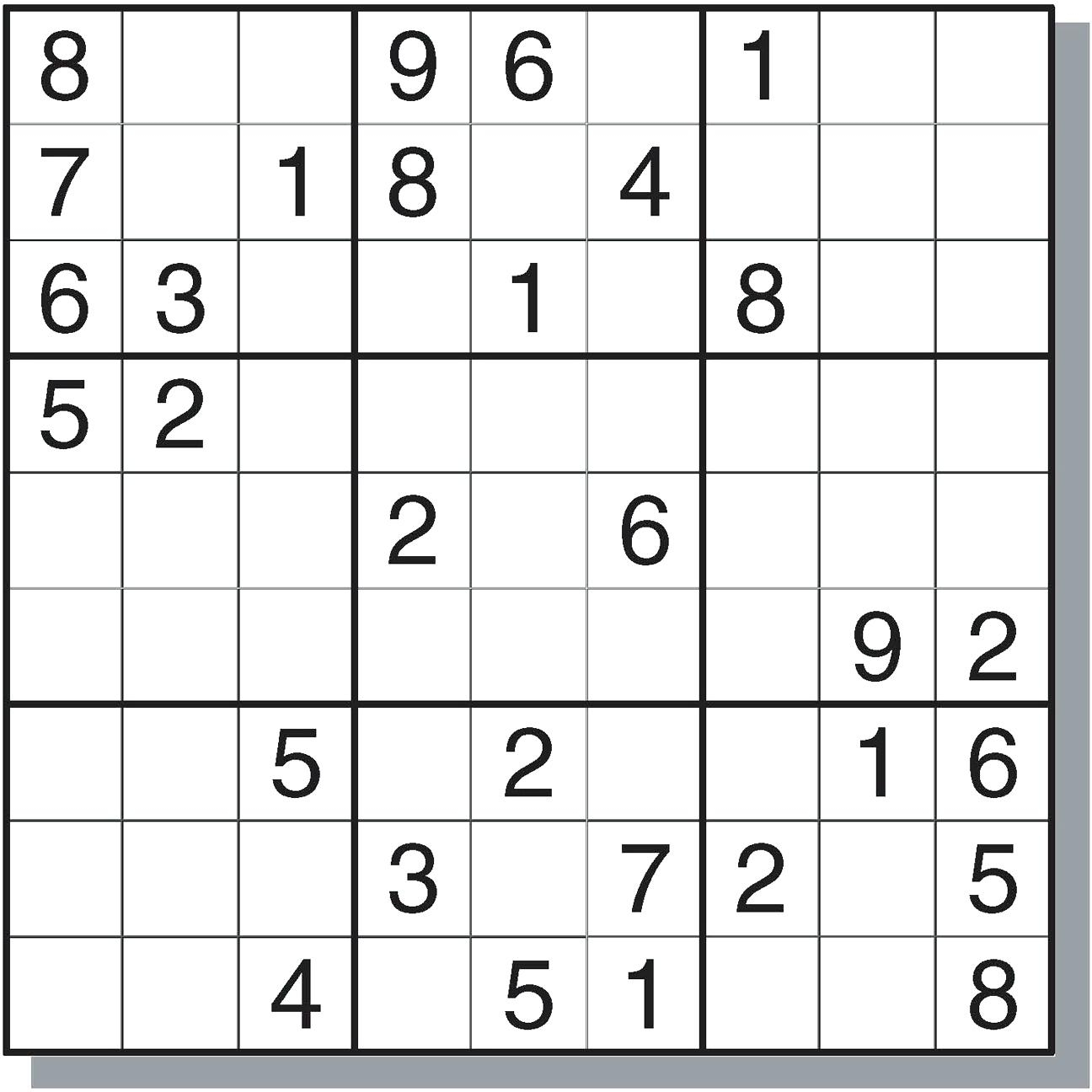 Sudoku Online - Ecosia - Download Printable Sudoku Puzzles Free