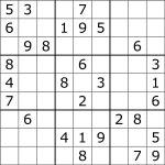 Sudoku   Wikipedia   Download Printable Sudoku Puzzles Free