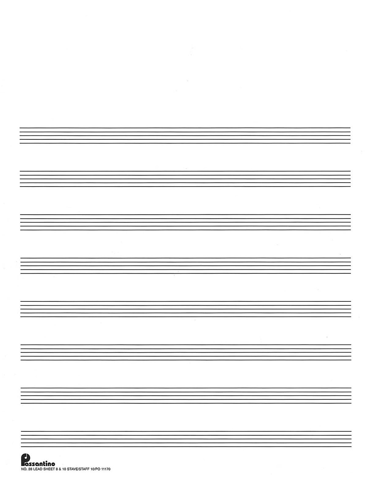 Summary -> Free Printable Staff Paper Blank Sheet Music Net - Free Printable Staff Paper Blank Sheet Music Net