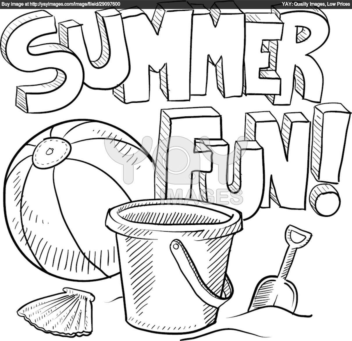 Summer Coloring Pages To Download And Print For Free | Kids Ideas - Summer Coloring Sheets Free Printable