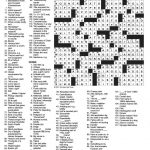 image about Printable La Times Crossword identified as Absolutely free La Periods Crossword Printable Free of charge Printable Down load