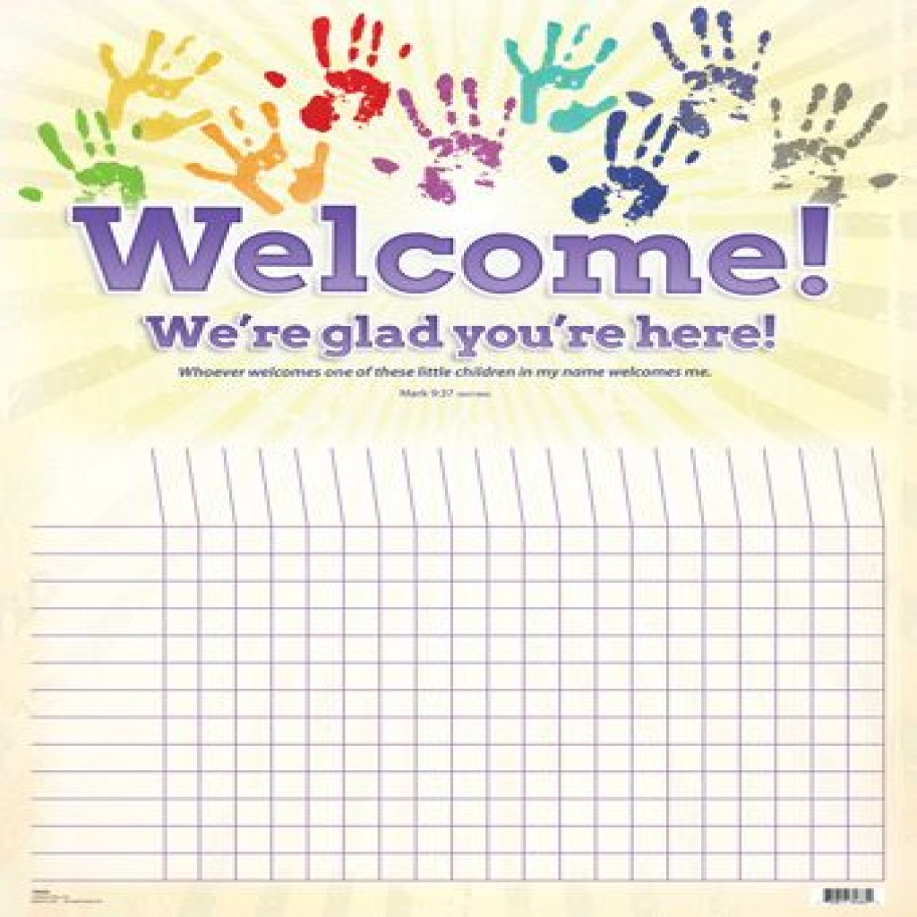 Sunday School Attendance Chart Free Printable | About Chart - Sunday School Attendance Chart Free Printable