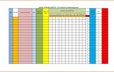 Sunday School Attendance Chart Free Printable