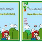 Super Mario Free Printable Birthday Invitations Click Image Below To   Free Printable Super Mario Bros Invitations