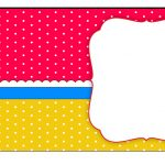 Sweet 16 Red, Light Blue And Yellow: Free Printable Candy Bar Labels   Free Printable Sweet 16 Labels