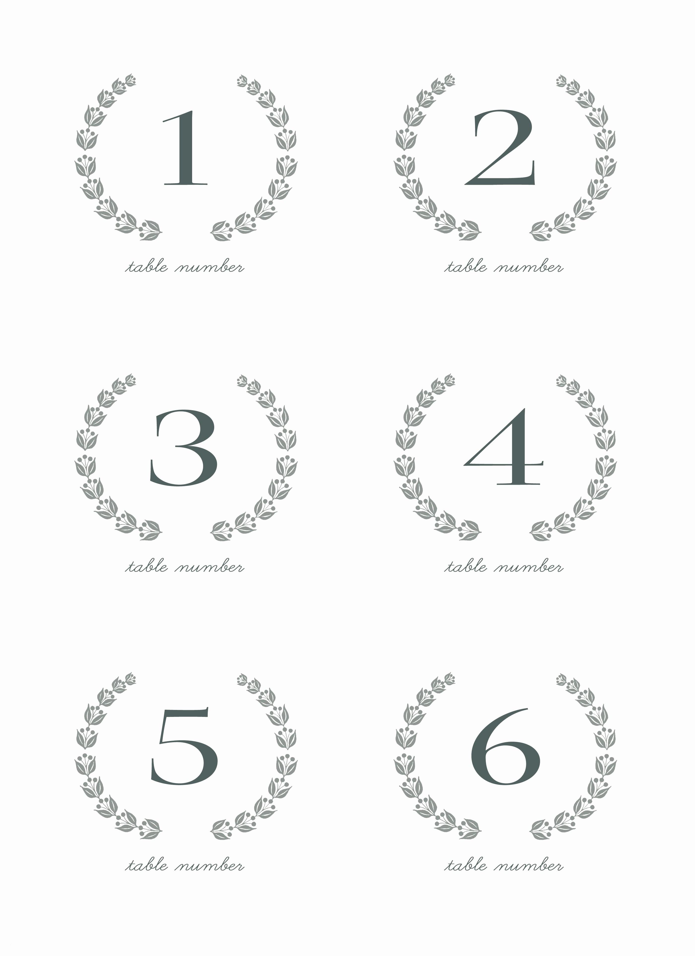 Table Printable 30 Numbers 1 - Free Printable Table Numbers 1 30