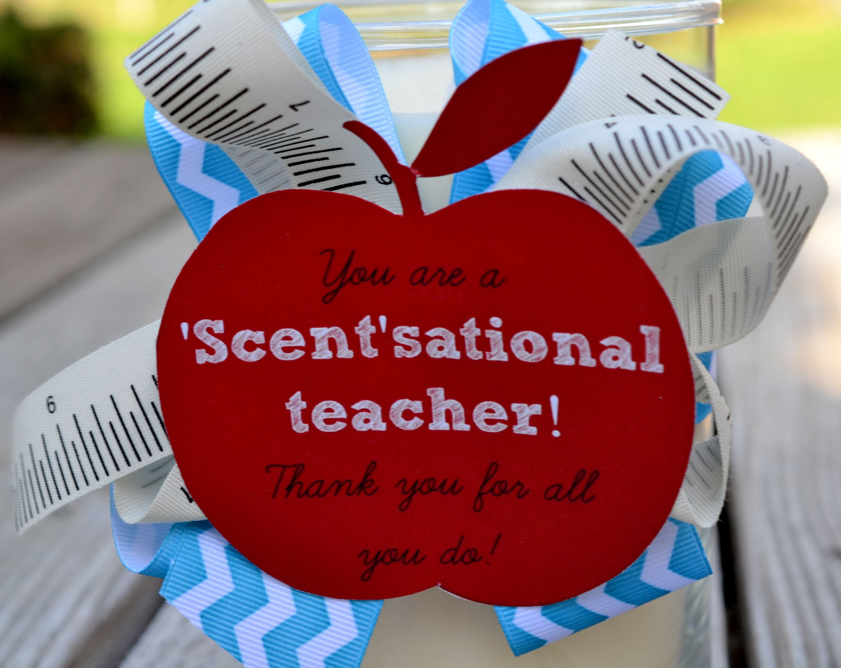 Teacher Appreciation Gift Idea: Candles & Candle Warmers (Plus A - Scentsational Teacher Free Printable