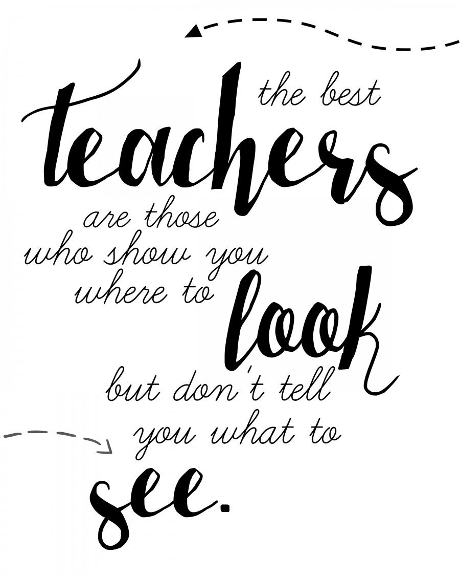 Teacher Quote Free Printable | Words | Pinterest | Teacher Quotes - Free Printable Quotes And Sayings