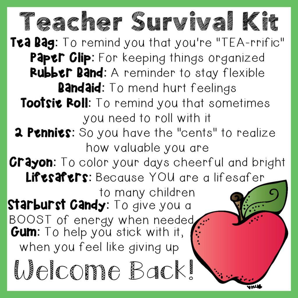 Teacher Survival Kit | Education | Pinterest | Teacher Survival Kits - Teacher Survival Kit Free Printable