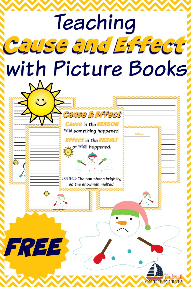 Teaching Cause And Effect With Picture Books - Free Printable Cause And Effect Picture Cards