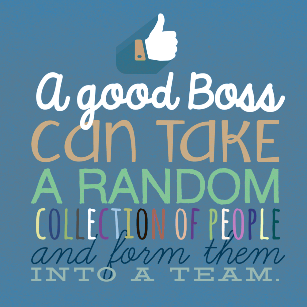 Teamwork - Free Boss Day Card | Greetings Island - Free Printable Funny Boss Day Cards