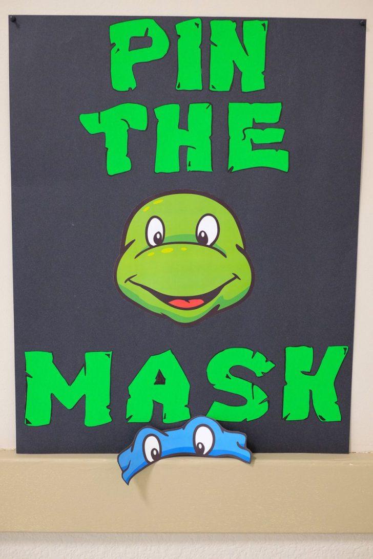 Teenage Mutant Ninja Turtles Free Printable Mask