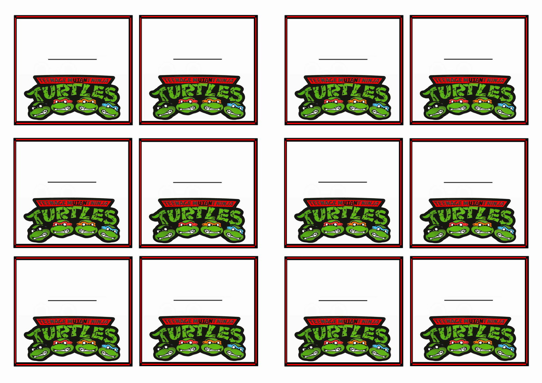 Teenage Mutant Ninja Turtles – Cupcake Toppers | Birthday Printable - Free Printable Teenage Mutant Ninja Turtle Cupcake Toppers