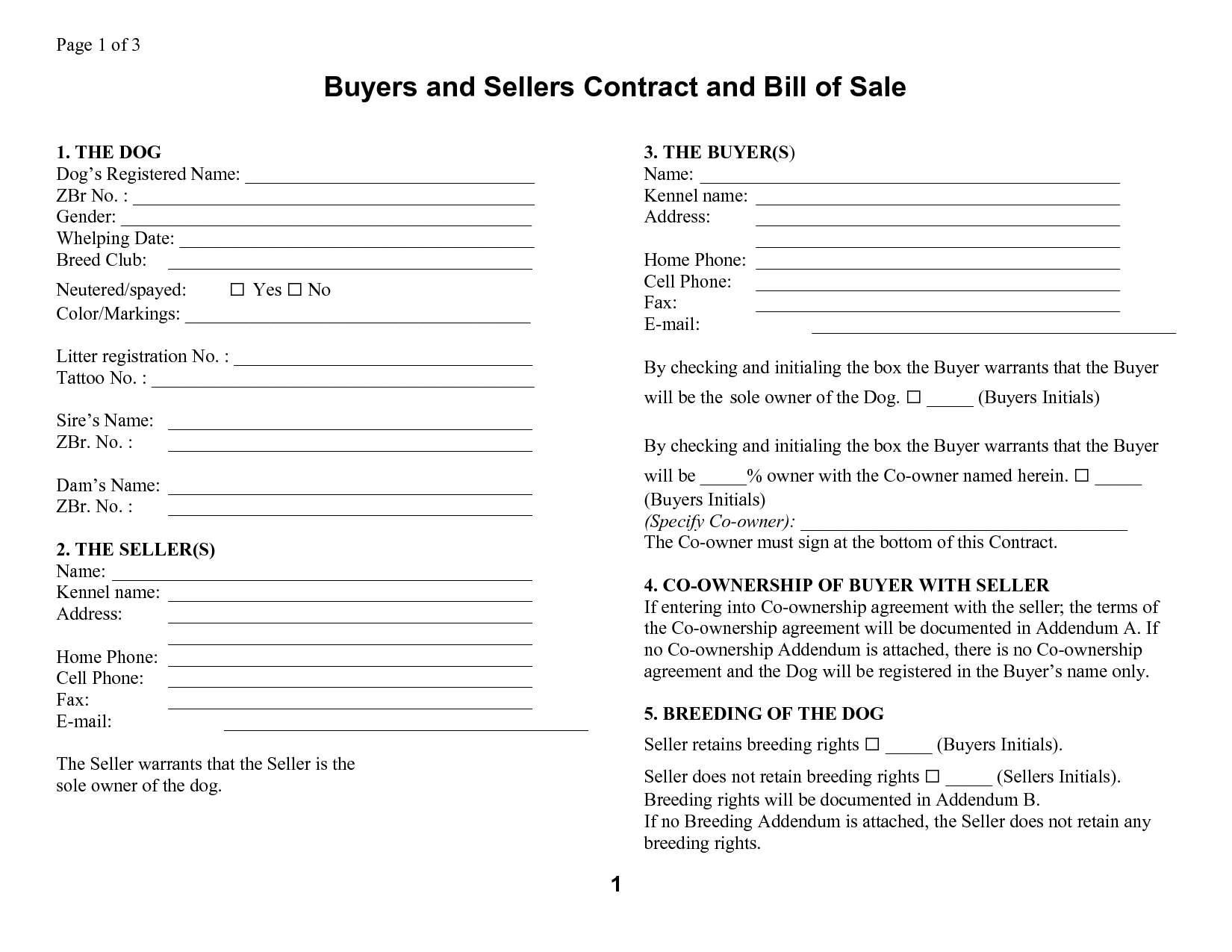 Template: Free Printable Manufactured Mobile Home Bill Of Sale - Free Printable Bill Of Sale For Mobile Home