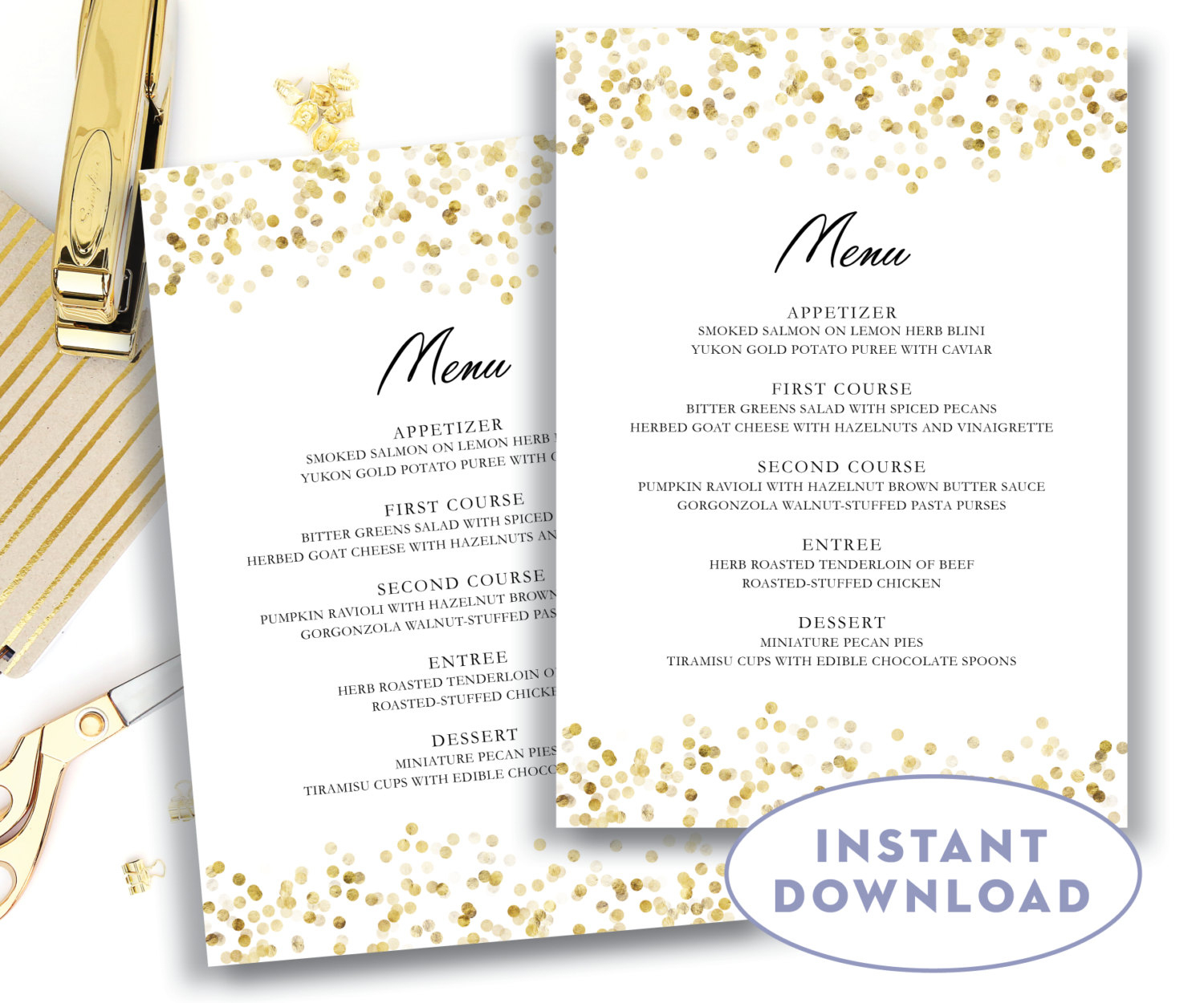 Template: Wedding Menu Template - Free Printable Wedding Menu Card Templates