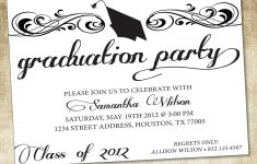 Free Printable Graduation Dinner Invitations