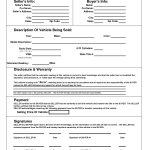 Texas Motor Vehicle Bill Sale Form | Books Worth Reading – Free Printable Bill Of Sale For Car