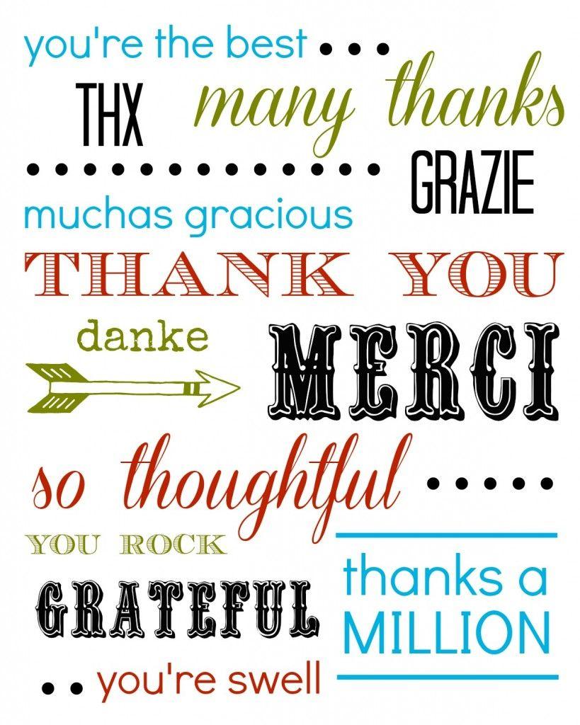 Thank You Card Free Printable | Printables | Thank You Cards, Cards - Free Printable Snap Cards