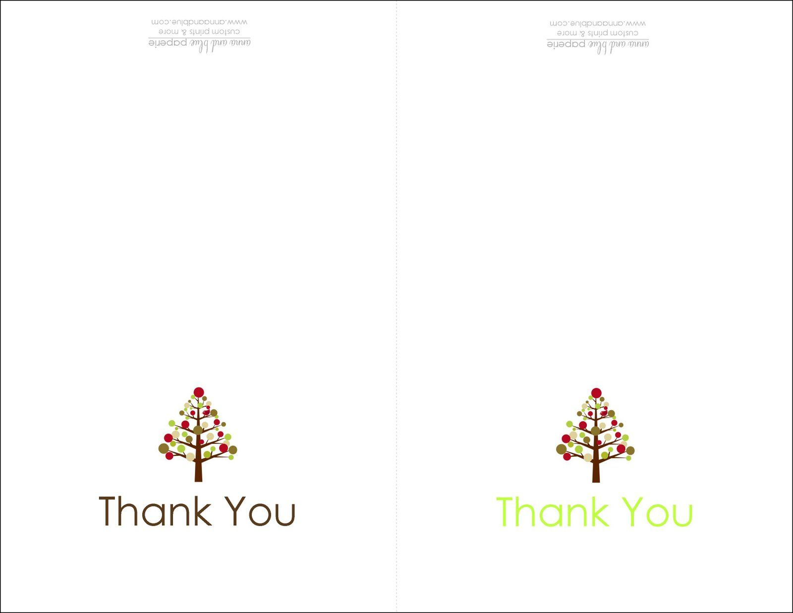 Thank You Cards Printable | Printable - Christmas Thank You Cards Printable Free