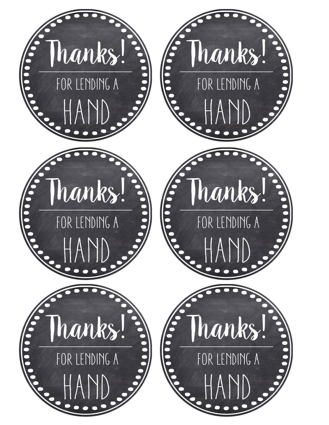 Thank You & Teacher Appreciation Tags Free Printable | Products I - Free Printable Thank You Tags
