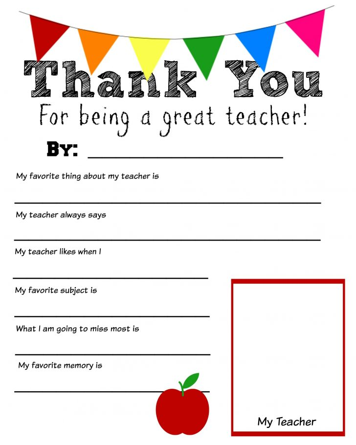 Free Printable Thank You