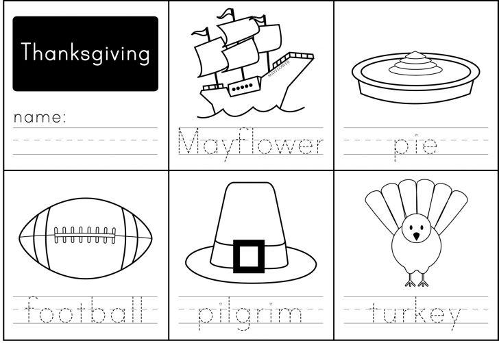 Free Printable Thanksgiving Activities For Preschoolers