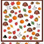 Thanksgiving I Spy Game   Free Printable | Thanksgivingpilgrams   Thanksgiving Games Printable Free