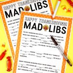 Thanksgiving Mad Libs Printable Game   Happiness Is Homemade   Free Printable Thanksgiving Mad Libs