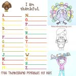 Thanksgiving Printables For Kids   Natural Beach Living   Thanksgiving Games Printable Free