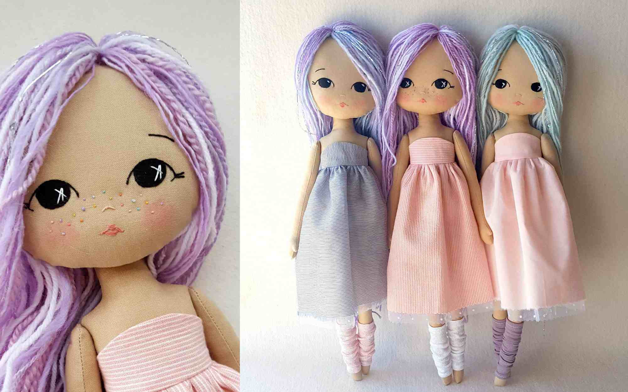 The 22 Best Doll Sewing Patterns - Free Printable Cloth Doll Sewing Patterns