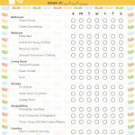 The Best Free Printable Cleaning Checklists   Sarah Titus   Free Printable Cleaning Schedule