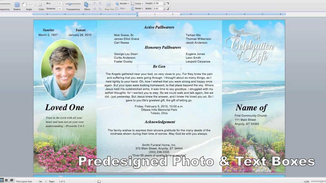 The Funeral Memorial Program Blog: Printable Obituary  Free Card - Free Printable Funeral Prayer Card Template
