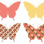 The Graphics Monarch: Digital Butterfly Collage Sheet Download   Free Printable Butterfly Cutouts