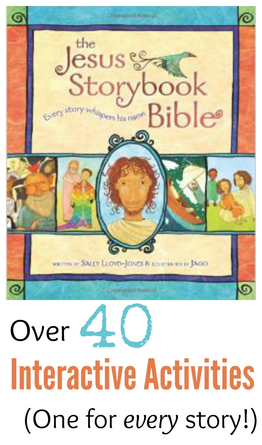 "The ""jesus Storybook Bible"" Hands-On Activities And Crafts - Free Printable Bible Crafts For Preschoolers"