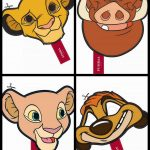The Lion King Free Printable Masks. … | Lion King Babyshower | Lion …   Free Printable Picture Of A Lion